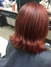Fiery Red Bob